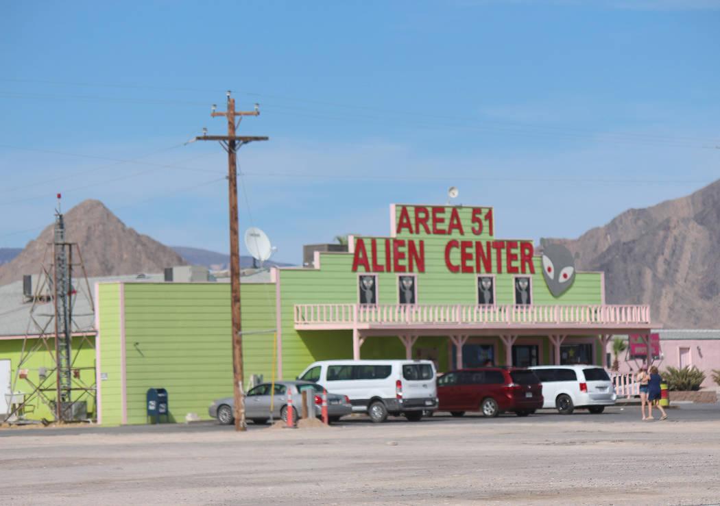 El Area 51 Alien Center en el Valle de Amargosa fue la ubicación inicial destinada para el eve ...
