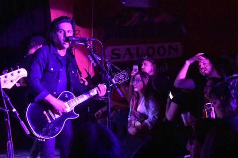 La banda mexicana de rock alternativo, Allison, se presentó exitosamente en Las Vegas. Sábado ...