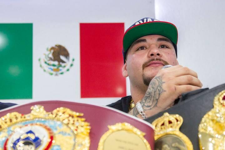 ARCHIVO. México, 12 Jun 2019 (Notimex-José Pazos).- Andy Ruiz Jr., campeón mundial de peso c ...