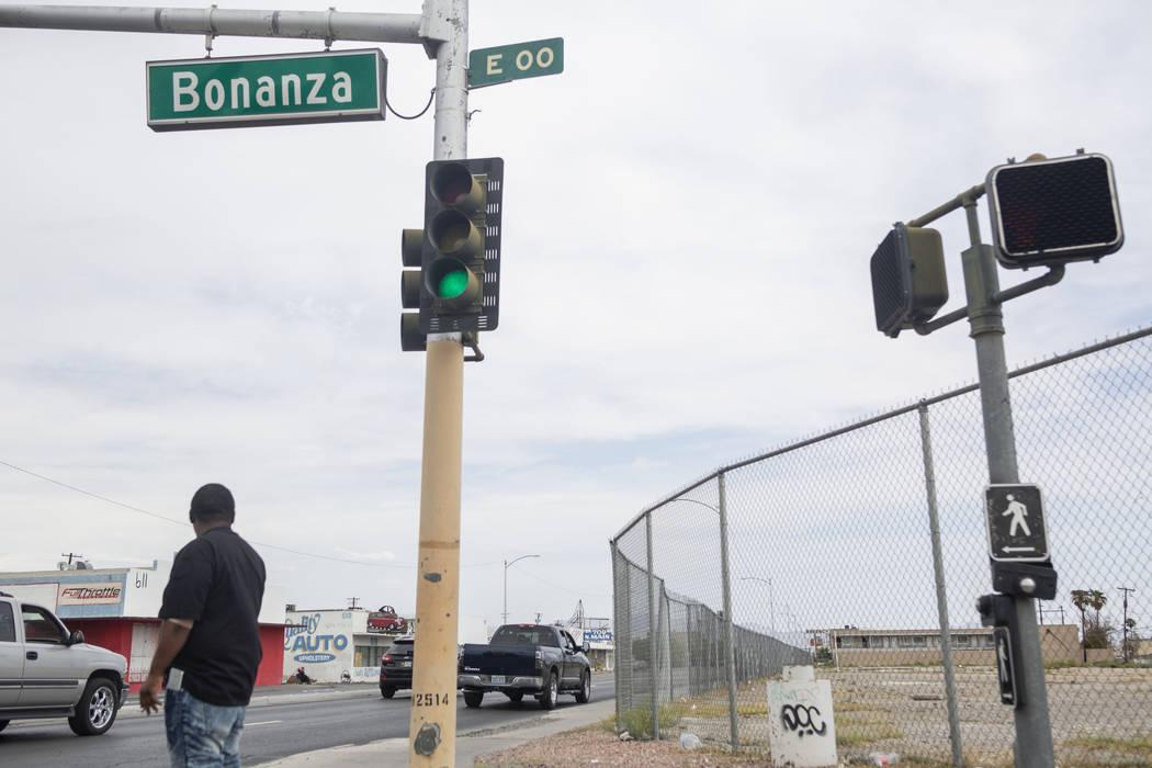 Un lote vacante en Bonanza Road y Main Street en Las Vegas el jueves, 5 de septiembre de 2019. ...