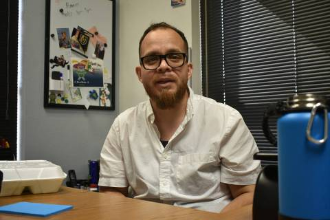 El director de Chispa Nevada, Rudy Zamora, pide que los precandidatos le den más importancia a ...