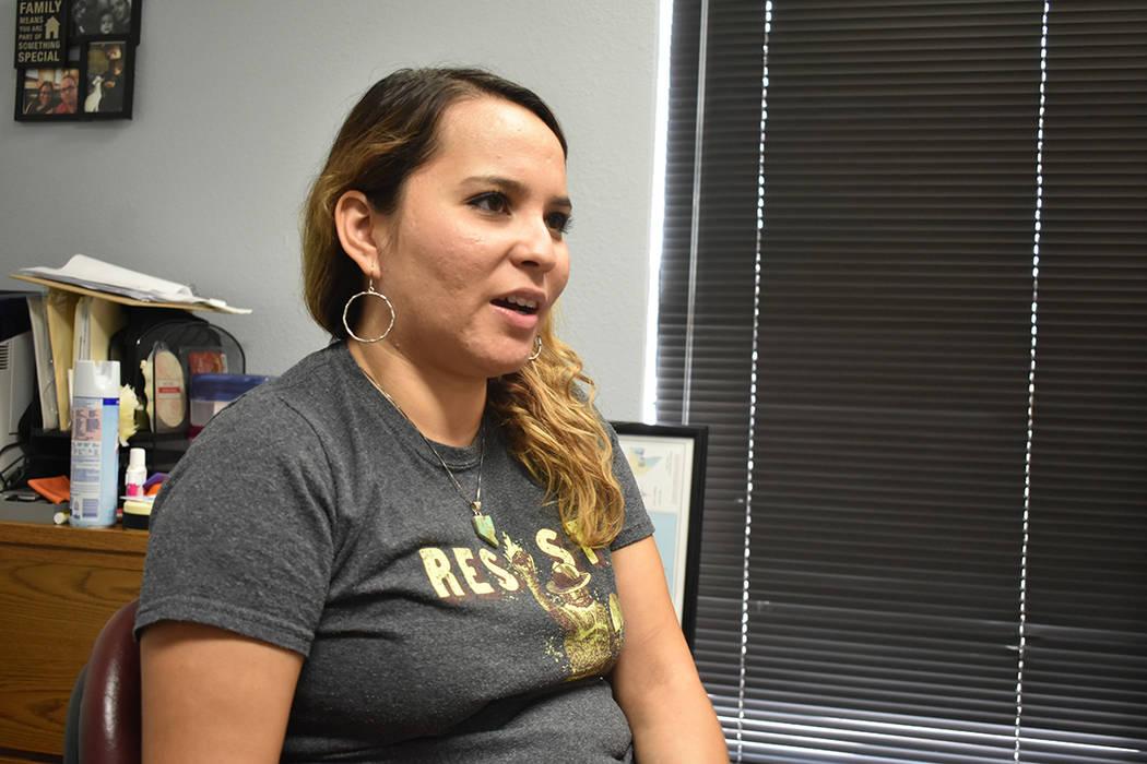 La responsable de comunicación de Chispa NV, Carolina Chacón, recordó que las necesidades de ...