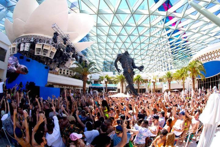 Una representación del nuevo Kaos Dome en Kaos Nightclub and Dayclub. (Palms)