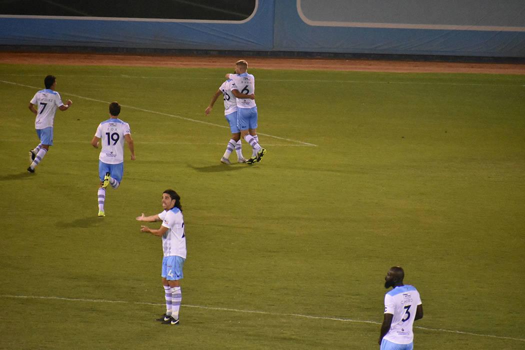 El Paso Locomotive FC fue contundente y derrotó 3-0 a Las Vegas Lights FC. Sábado 7 de septie ...