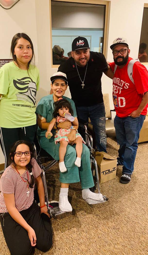 Marisol Villarreal ha encontrado en su familia la fuerza para seguir luchando contra el cáncer ...