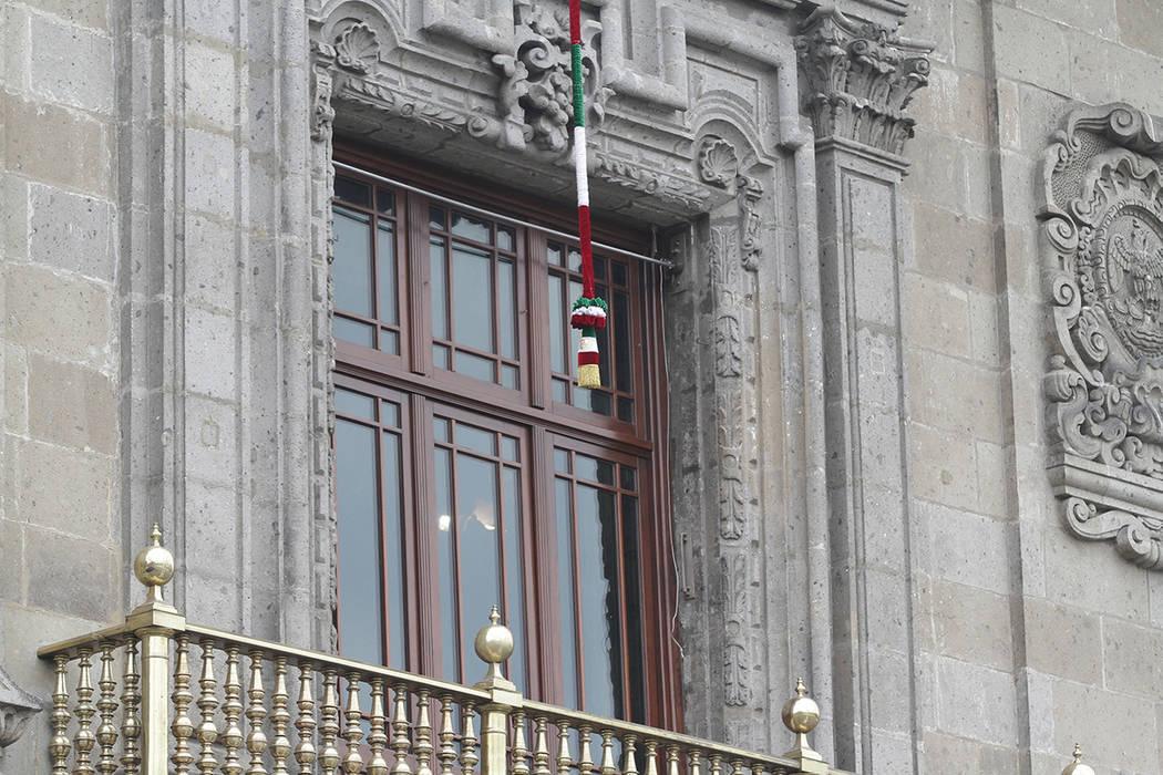Palacio Nacional, en el zócalo de la Ciudad de México. [NOTIMEX]