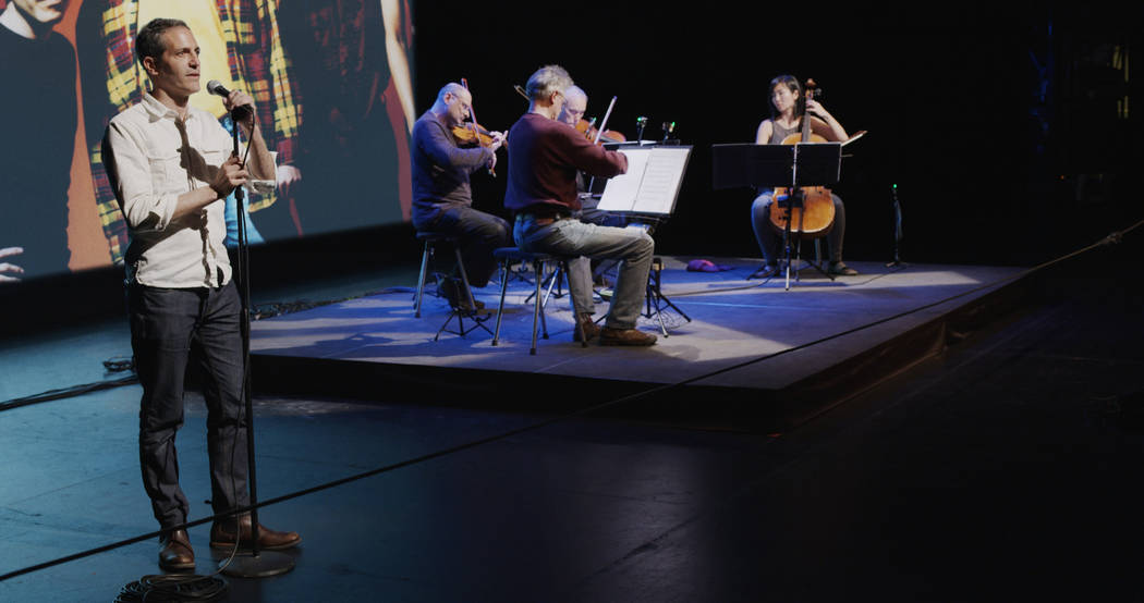 """""""A Thousand Thoughts: A Live Documentary with the Kronos Quartet"""" Kirsten Johnson"""