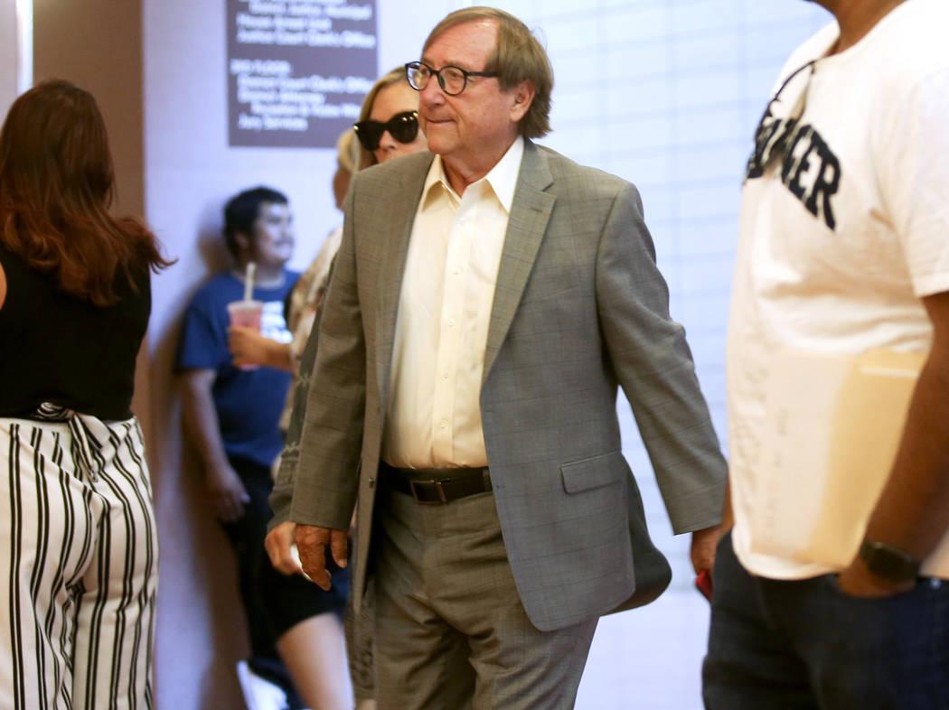 El CEO retirado de la Autoridad de Convenciones y Visitantes de Las Vegas, Rossi Ralenkotter, l ...