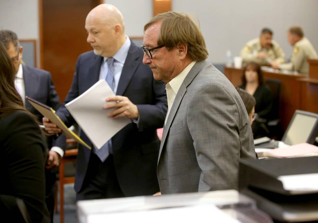 El CEO retirado de la Autoridad de Convenciones y Visitantes de Las Vegas, Rossi Ralenkotter, a ...
