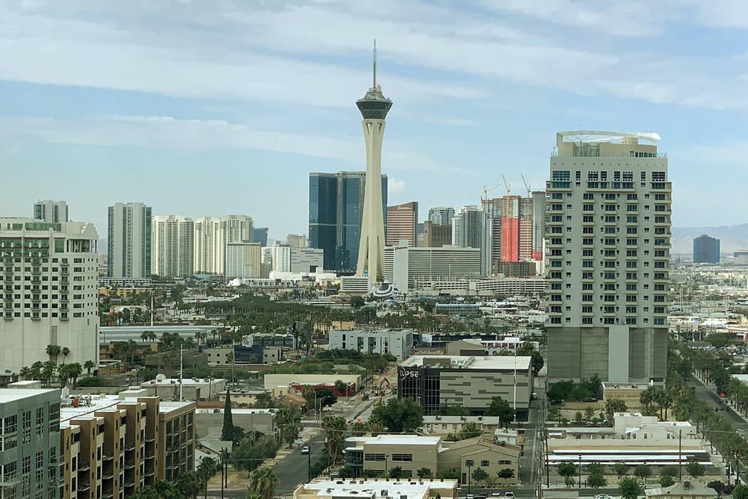 Los vientos del martes en el valle de Las Vegas darán paso a condiciones más tranquilas el mi ...