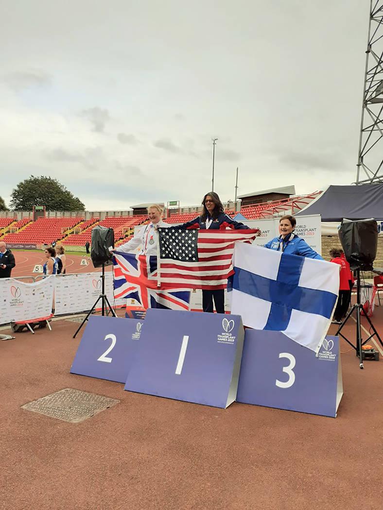 Las disciplinas del atletismo es donde compite la nayarita Juegos Mundiales para Trasplantados ...
