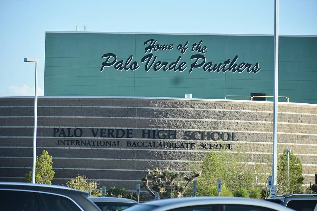 Exterior de la preparatoria Palo Verde, lugar donde daba clases la profesora Bárbara Edwards, ...