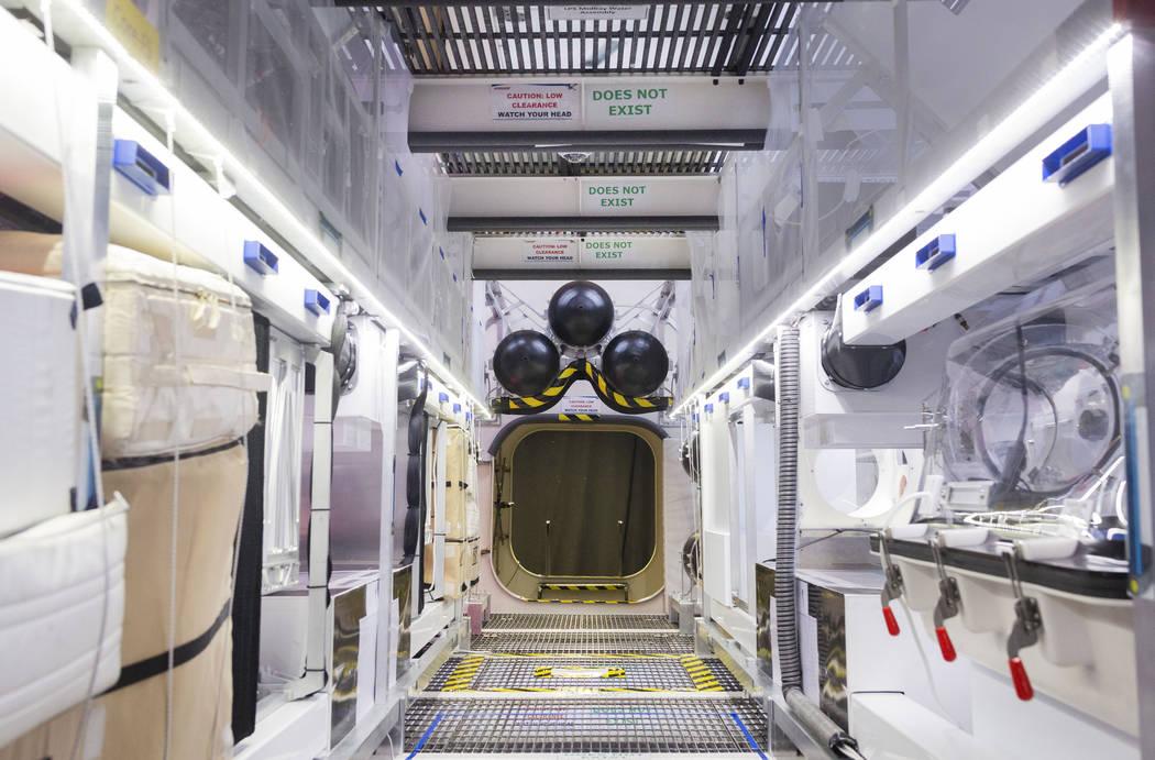 La ruta de desplazamiento principal para la Unidad de Pruebas del Transportador de Marte B330 e ...