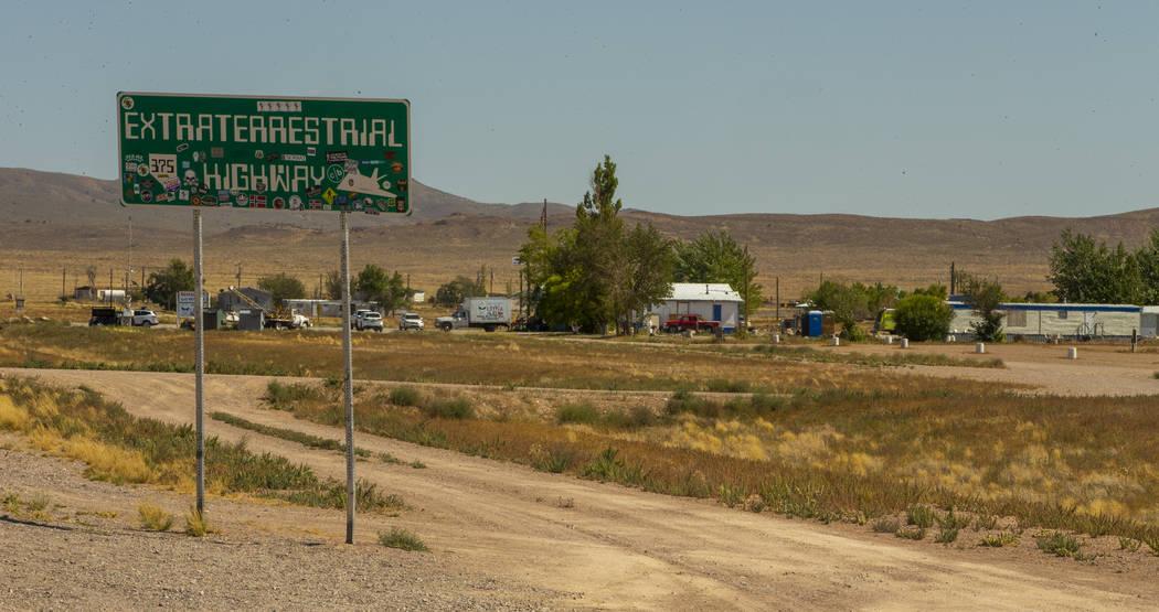 """La propiedad Little A'Le'Inn junto a la """"Carretera Extraterrestrial"""" será la zona cero para el ..."""