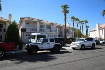 Una casa en Bahama Bay Court que se convirtió en un centro de rehabilitación, en Las Vegas, e ...