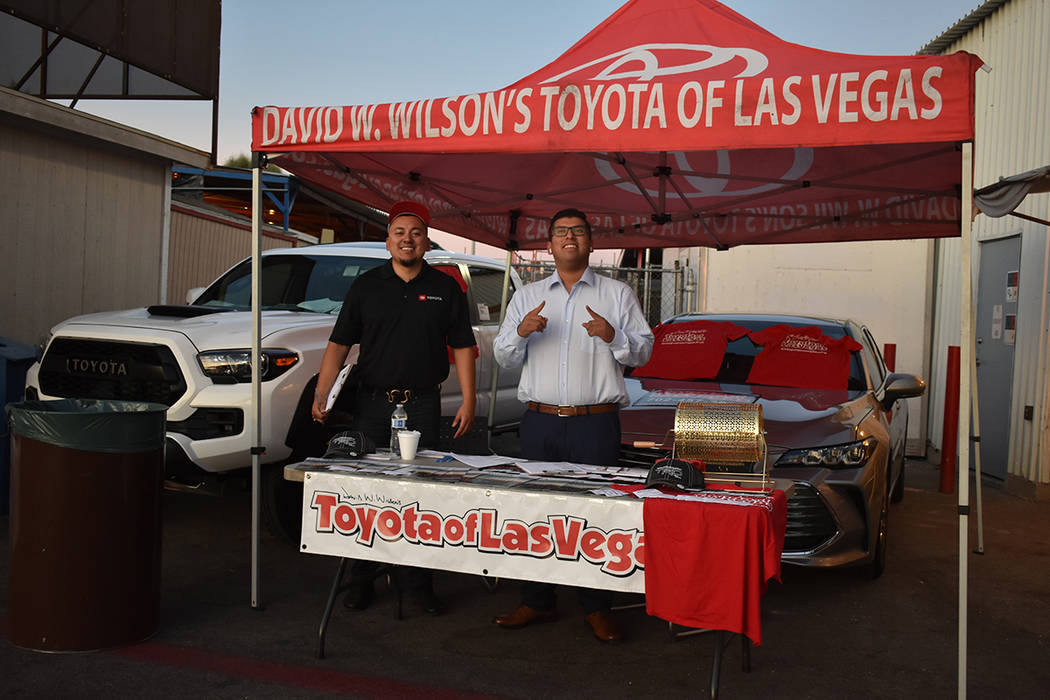 El evento fue posible gracias al apoyo de Toyota Las Vegas. Viernes 13 de septiembre de 2019 en ...