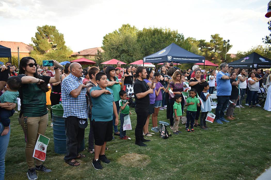"""La Federación Hidalguense de Nevada llevó a cabo el """"Evento Cultural 15 de Septiembre"""", e ..."""