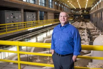 El gerente general de la Autoridad del Agua del Sur de Nevada, John Entsminger, en Springs Pres ...