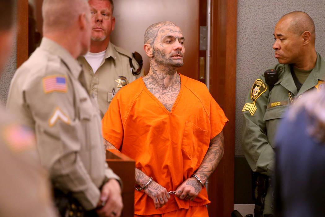 Anthony Williams, de 36 años, comparece ante la corte en el Centro de Justicia Regional en Las ...