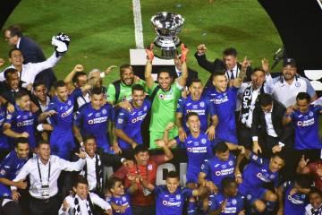 Cruz Azul se proclamó campeón de la Leagues Cup tras vencer a Tigres. Miércoles 18 de septie ...