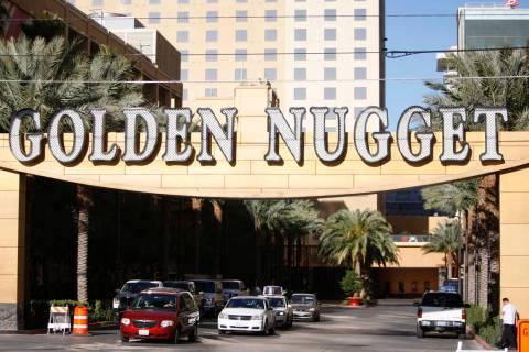 The Golden Nugget casino-hotel en Las Vegas (Erik Verduzco/Las Vegas Review-Journal).