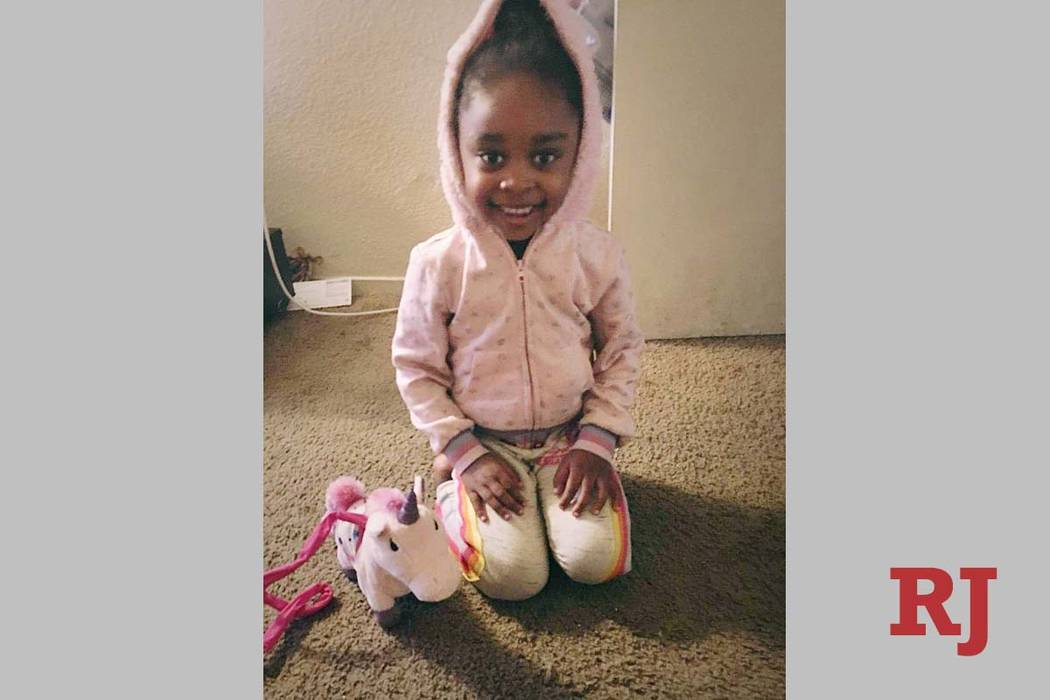 Una foto sin fecha de Janiyah Russell, de 5 años, quien murió el 11 de septiembre de 2019 en ...