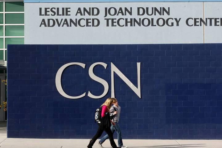 College of Southern Nevada en Henderson (Las Vegas Review-Journal).