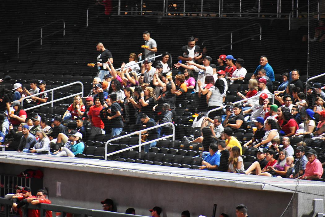La Fiesta Mexicana de Béisbol llegó a Las Vegas para beneplácito de los aficionados de este ...