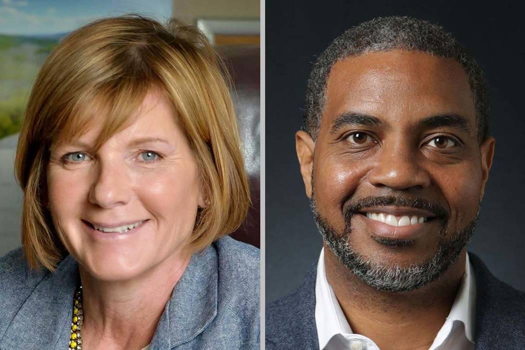 Representantes Susie Lee y Steven Horsford de Nevada. (Las Vegas Review-Journal)