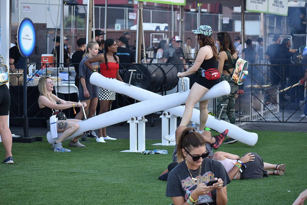 Los asistentes tuvieron la oportunidad de disfrutar de tres días de conciertos, actuaciones y ...