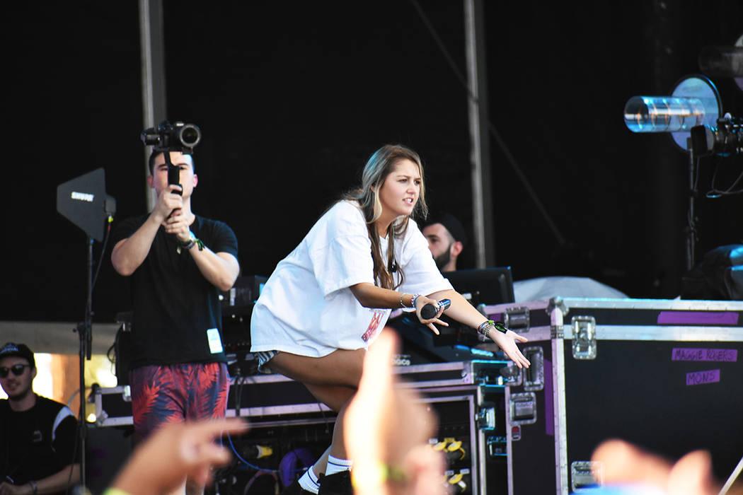 Chelsea Cutler se presentó durante el segundo día del festival. Sábado 21 de septiembre de 2 ...