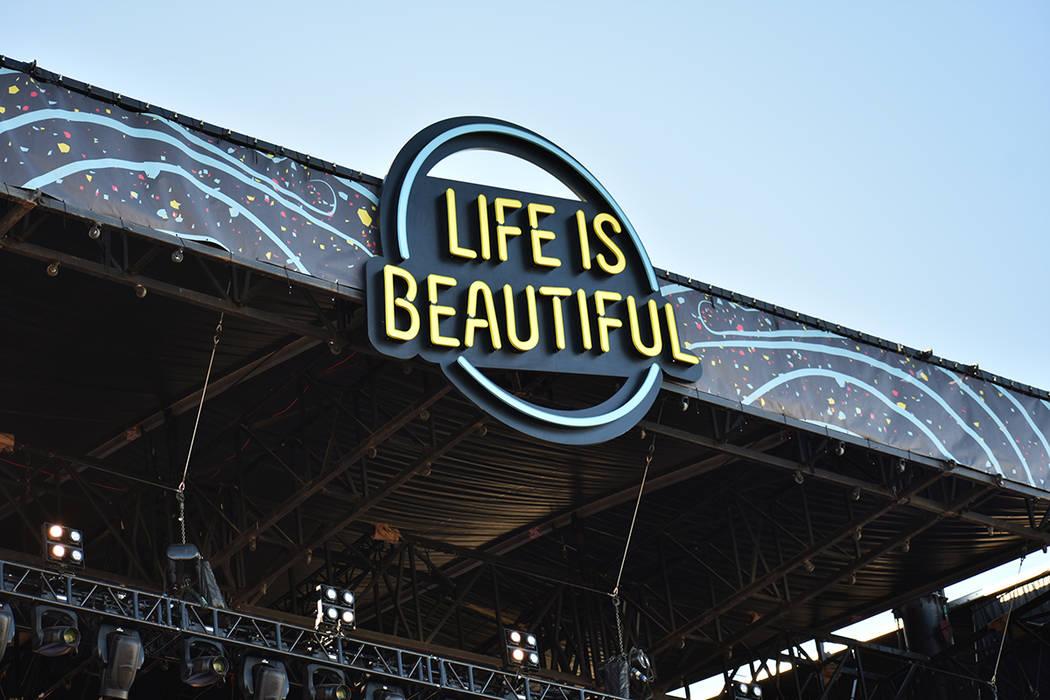 La edición 2019 de Life Is Beautiful contó con una asistencia de más de 195,000 personas. Do ...