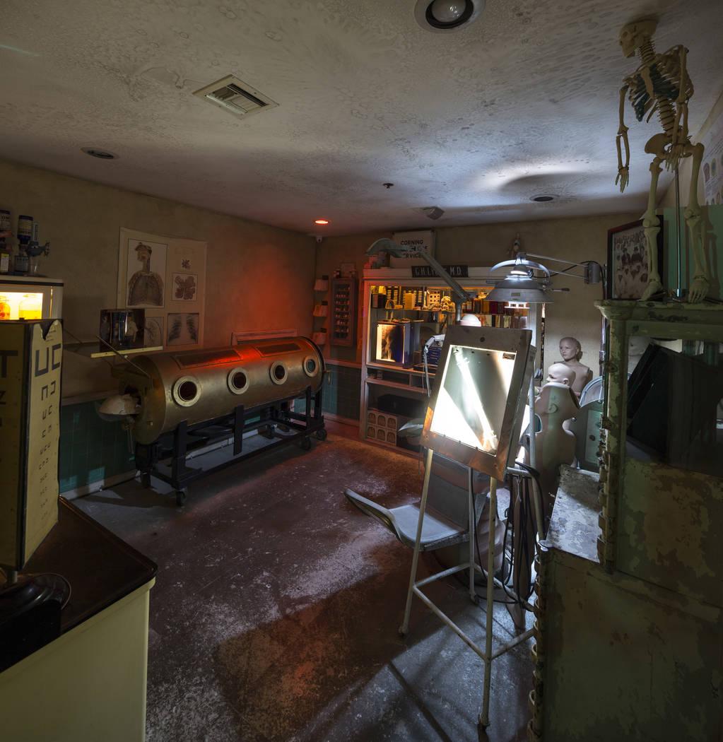 Zak Bagans' The Haunted Museum, ubicado en 600 E. Charleston Blvd. en el centro de Las Vegas, 2 ...