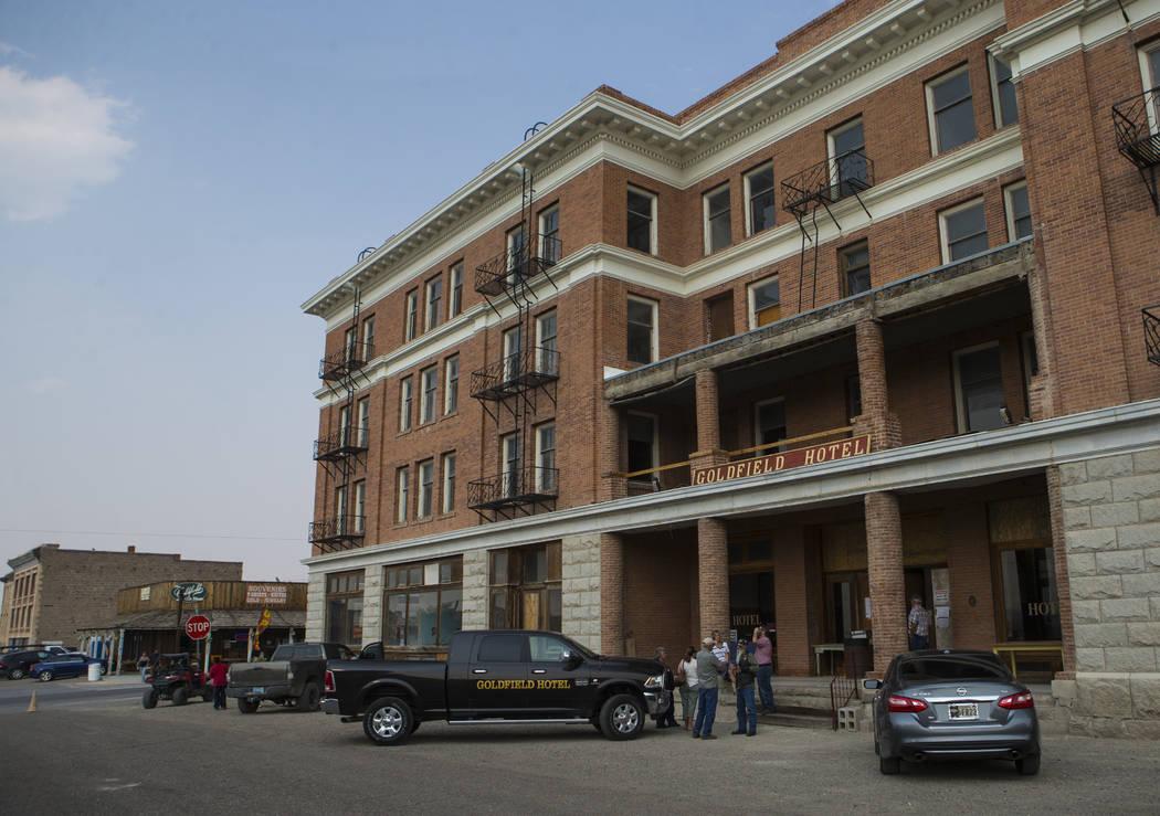 El histórico Goldfield Hotel ofreció recorridos durante la celebración de los Días de Goldf ...