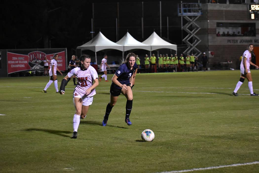 UNLV y USU protagonizaron un emocionante partido pese a terminar sin goles el tiempo reglamenta ...