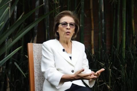 ARCHIVO. Ciudad de México, 16 Sep 2019 (Notimex- Guillermo Granados).- Isabel Miranda de Walla ...