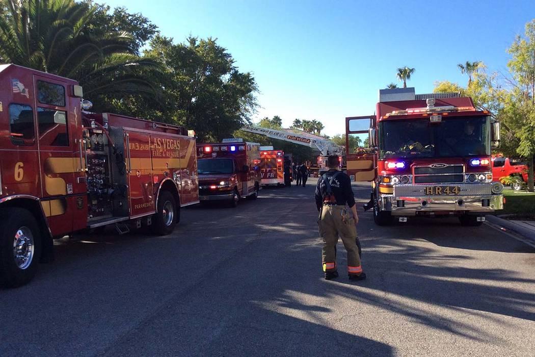 Una mujer y su hijo de seis años murieron después de que fueron rescatados de un incendio den ...