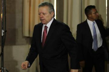 Ciudad de México, 10 Oct 2019 (Notimex-Guillermo Granados).- Conferencia de prensa del Ministr ...