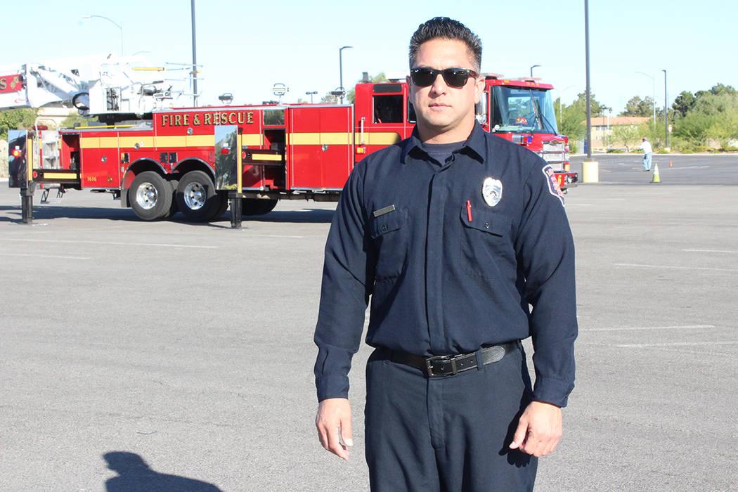 El bombero Mokie Sasaoka dijo que los detectores son el mejor aliado en la prevención de incen ...