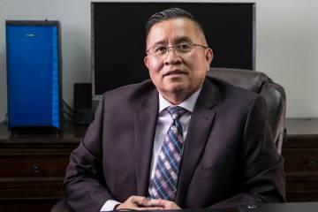 Rulon Pete, director ejecutivo del Centro Indígena de Las Vegas el viernes, 11 de octubre de 2 ...
