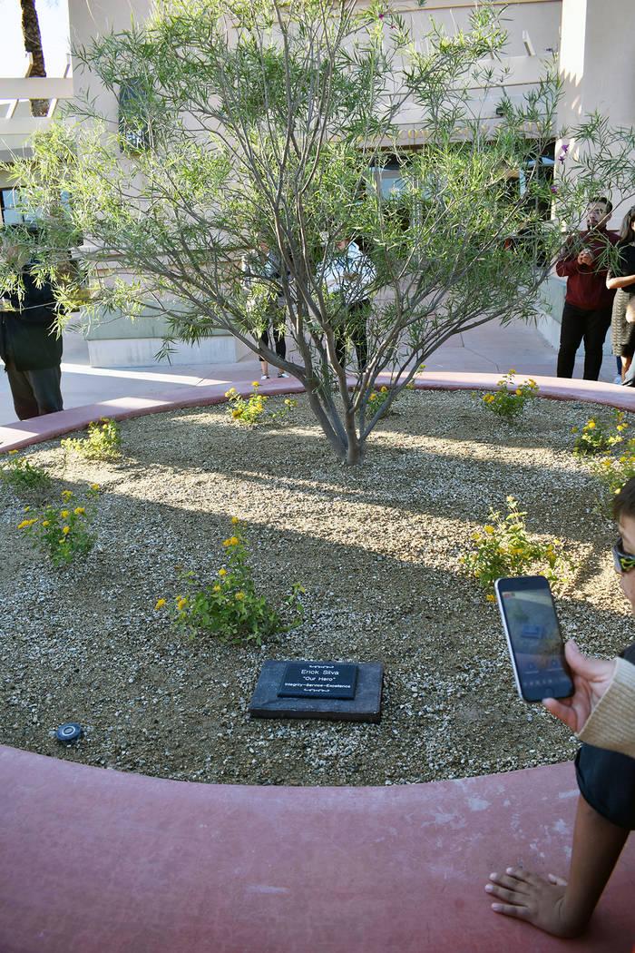 """""""Quiero que se quede conmigo siempre"""", dijo Cervantes durante el homenaje a su hijo. Vierne ..."""