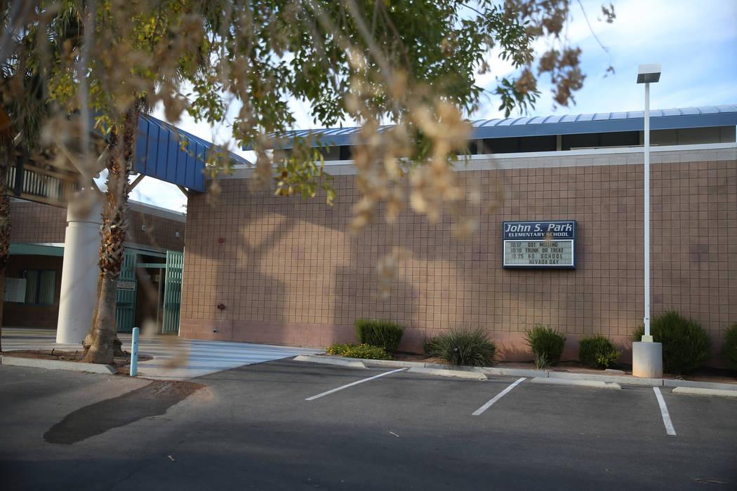 Park Elementary School en Las Vegas, la escuela a la que asistió Karla Rodríguez antes de des ...