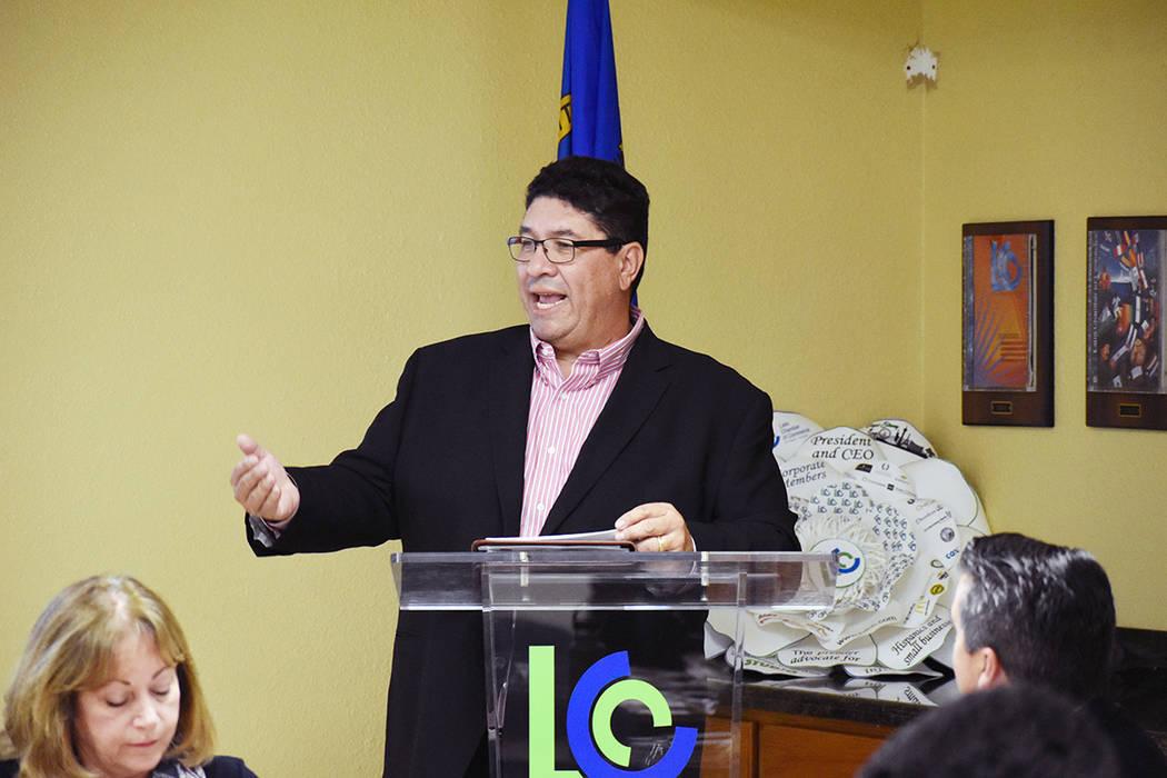 José Meléndrez, uno de los miembros de la Junta Directiva de la Cámara Latina de Comercio pa ...