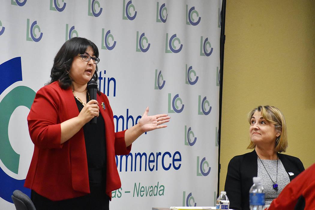Irene Bustamante Adams, ex asambleísta de Nevada y directora de estrategia de Workforce Connec ...