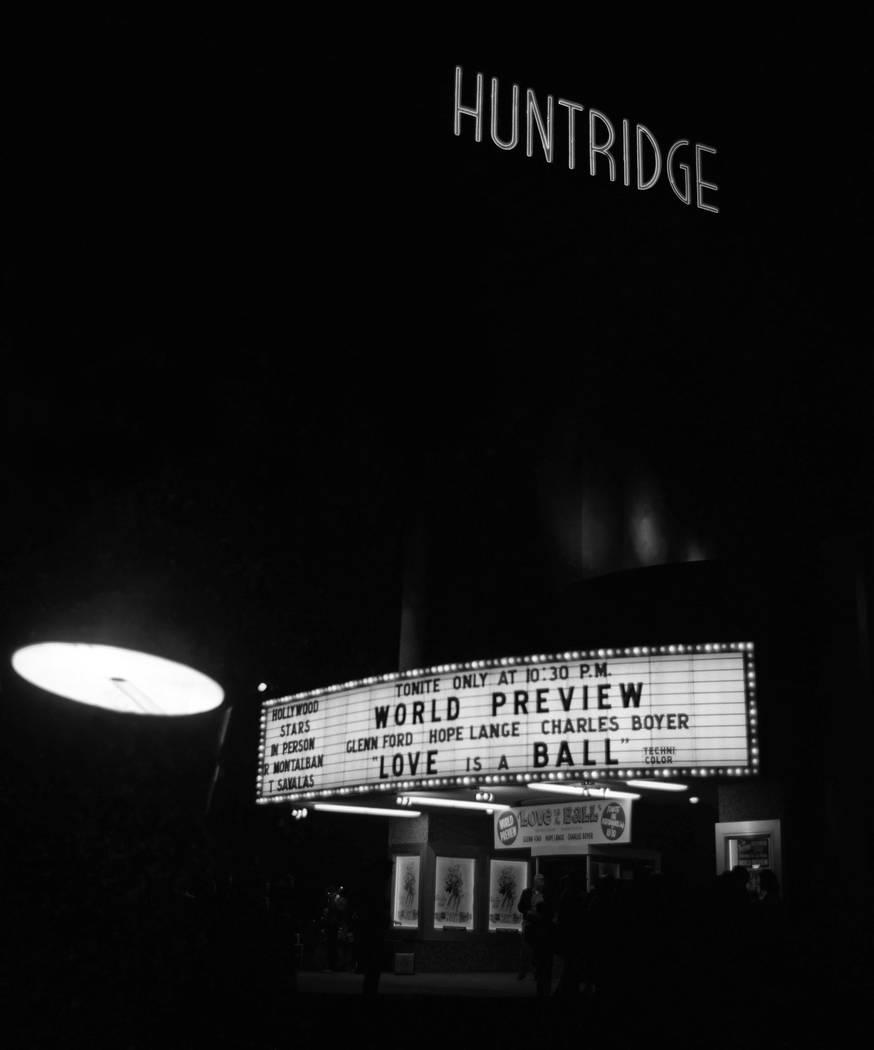 """Estreno de la película """"Love is a Ball"""" en el Teatro Huntridge de Las Vegas. (Archivo del Revi ..."""