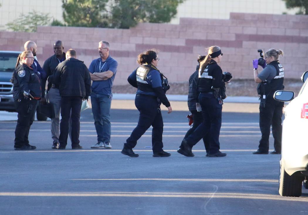 La policía investiga un tiroteo que involucró a un oficial de policía de North Las Vegas en ...