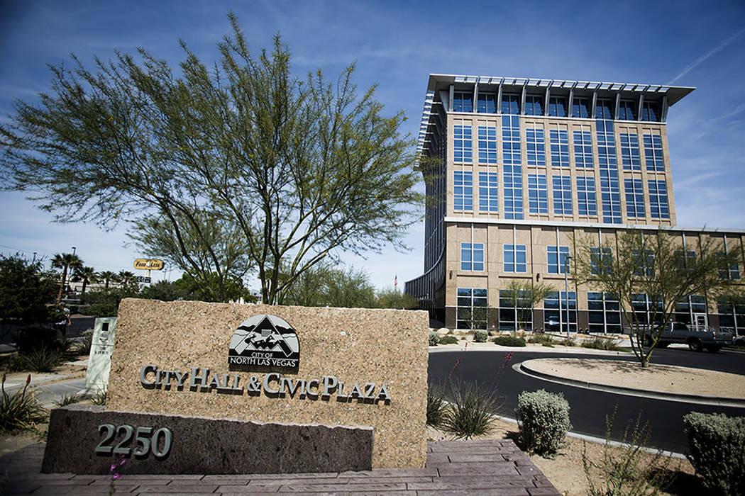 Ayuntamiento de North Las Vegas (Jeff Scheid/Las Vegas Review-Journal).