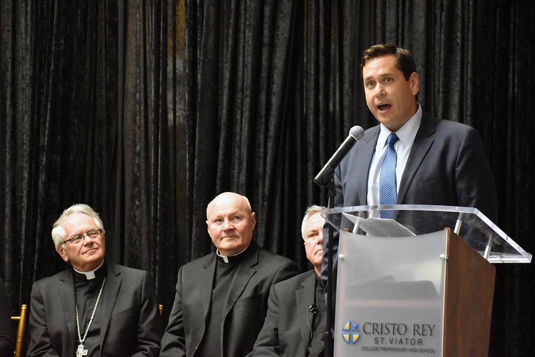 """Francisco V. Aguilar """"Cisco"""", presidente de la Junta de Síndicos de CRSV, agradeció a los ..."""