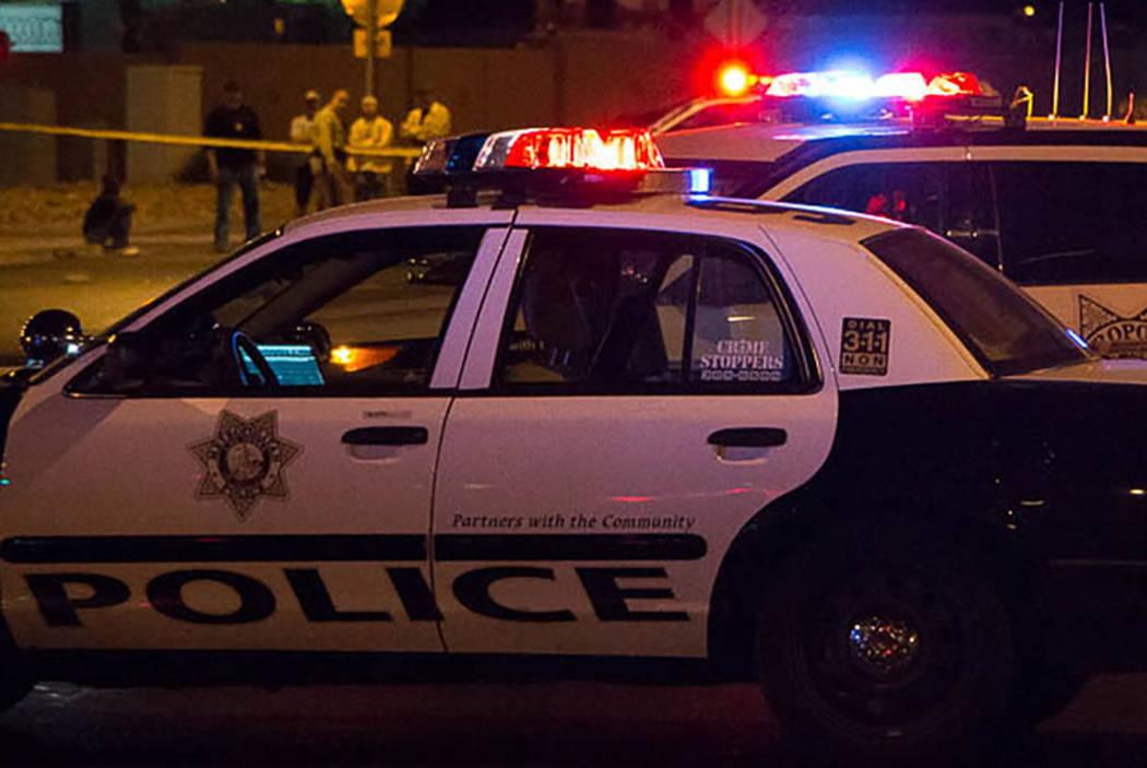 Policía de Las Vegas (Las Vegas Review-Journal).