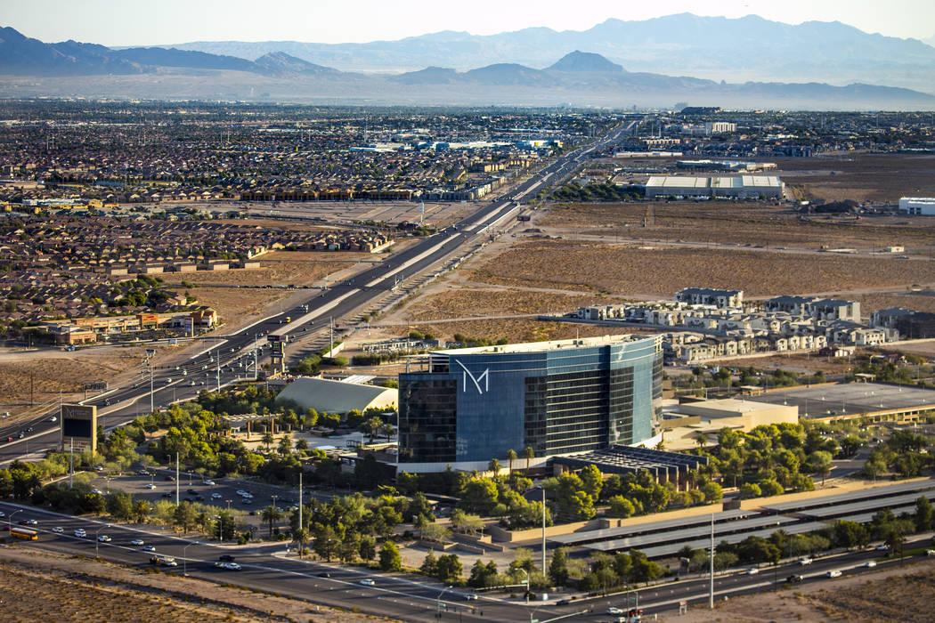 The M Resort a lo largo de St. Rose Parkway el miércoles, 16 de octubre de 2019 en Las Vegas. ...